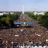Civil rights marches, how do you count a crowd?