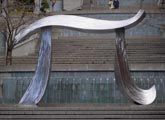 Seattle, Washington Pi sculpture