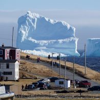 Giant iceberg