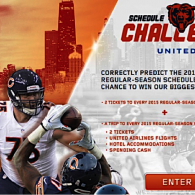 Can you predict the Bears' 2015 schedule and win big?