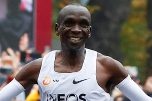 Eliud Kipchoge runs marathon in 1:59:40.2