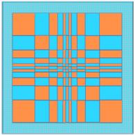 Fibonacci coloring