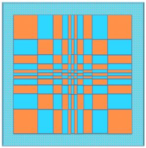 Fibonacci lattice