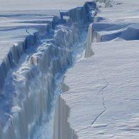 Giant iceberg breaks off from Antarctica