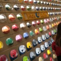 Pick-a-brick wall at the Lego store