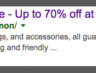 Are these really 70% off?