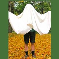 Making a ghost costume