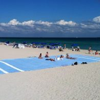 Really big beach towel