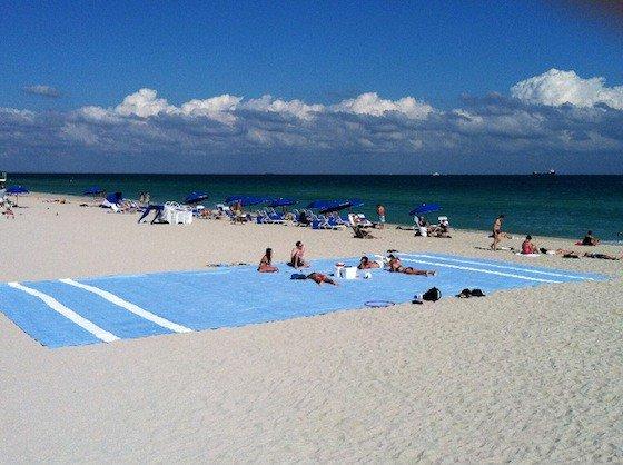 Really big beach towel – Yummy Math