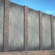 Proposed southern border wall