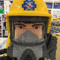 Amazing LEGO Fireman