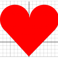 How did I graph this heart?