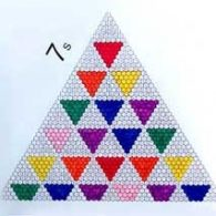 Pascal's Triangle coloring and Probability
